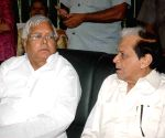 Nitish, Lalu during a programme