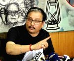 Manoj Jha's press conference