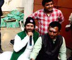 Tej Pratap Yadav at Janta Darbar