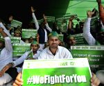 RJD's demonstration - Tej Pratap Yadav