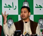 Tejashwi Yadav's press conference