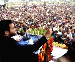 Tejashwi Yadav addresses public rally