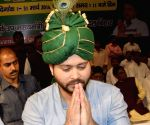 Tejashwi Yadav during a programme