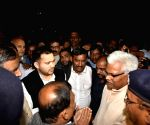 Tejashwi leads RJD protest over Muzaffarpur shelter home rape case