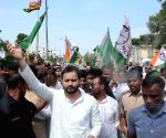 RJD's demonstration during 'Bharat Bandh
