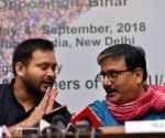 "Interactive session on ""Role of Youth in Contemporary Politics"" - Tejashwi Yadav, Manoj Jha"