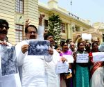 RJD's protest at Bihar Assembly