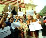 RJD's demonstration against PM Modi