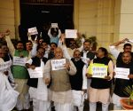 RJD legislators' demonstration against demonetisation