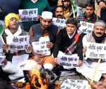 Free Photo: RJD protests against CAA outside JD-U office