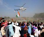 Araria (Bihar): Tejashwi Yadav at a public rally