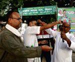 Bihar By polls - RJD leads in Simri Bakhtiarpur, Nathnagar and Belhar, party workers celebrate