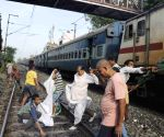 RJD workers disrupt railway services during 'Bharat Bandh' protest against fuel price hike