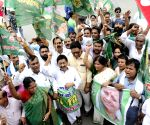 Shutdown against Bihar shelter home rape - RJD's demonstration