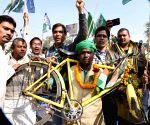 Bihar strike - RJD protest