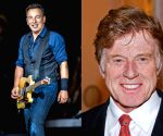 Free Photo:Robert Redford, Bruce Springsteen.