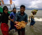 Dakhinpara (Bangladesh): Rohingya refugees arrive in Shah Porir Dwip