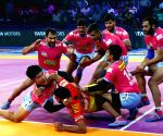 Noida (UP): Pro Kabaddi League 2018 - Jaipur Pink Panthers Vs Gujarat Fortunegiants
