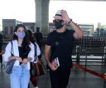 Rohit Roy with family spotted at airport departure on Tuesday 09th March, 2021