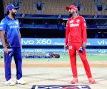 Free Photo:  Rohit Sharma captain of Mumbai Indians and KL Rahul captain of Punjab Kings