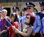 ITALY ROME CHINA POLICE JOINT PATROLS