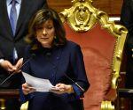 ITALY ROME POLITICS PARLIAMENT SENATE