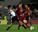 ITALY ROME SOCCER SERIE A JUVENTUS VS ROMA