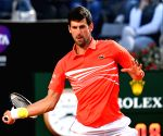 Djokovic beats Schwartzman to reach Italian Open final