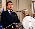 ITALY ROME NEW GOVERNMENT GIUSEPPE CONTE