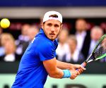 FRANCE ROUEN TENNIS DAVIS CUP QUARTERFINAL FRANCE VS BRITAIN