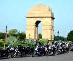 Royal Enfield Himalayan Odyssey 2017 Flag-off from India Gate