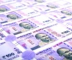Wads of currency notes rain on Kolkata street