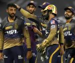 Russell,  Chakravarthy shine for Kolkata as Bangalore all out for 92