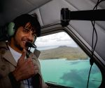 Sidharth on power-packed adventurous trail in New Zealand ()