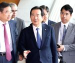 S.Korean PM in Iran for bilateral talks