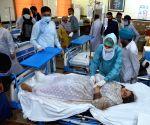 1 dead, 25 hurt in Pak train derailment
