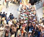Pilgrims throng Sabarimala as 2-month season opens