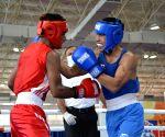 Sachin stuns World Championships medallist Gaurav Bidhuri at Men's National Boxing