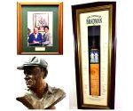 Free Photo: Sachin Tendulkar pays tribute to the Don