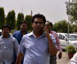 Kapil Mishra at Delhi Assembly