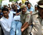 Kapil Mishra faints, taken to hospital