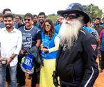 Cauvery Calling - bike rally - Jaggi Vasudev