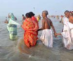 Sagar Island: Gangasagar Mela - Devotees take holy dip