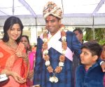 Tej Pratap Yadav ahead of his marriage ceremony
