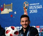 RUSSIA-SAINT PETERSBURG-2018 WORLD CUP-FRANCE-PRESS CONFERENCE