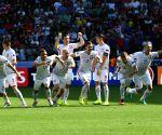 FRANCE SAINT ETIENNE SOCCER EURO 2016 SWITZERLAND VS POLAND