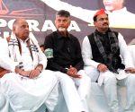 Mulayam, Sharad Yadav extend support to Chandrababu Naidu