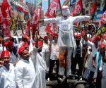 Samajwadi Party demonstration