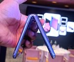 Samsung patents Galaxy Z Flip's design with dual punch-hole camera