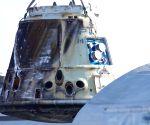 U.S. CALIFORNIA SPACEX DRAGON SPACECRAFT